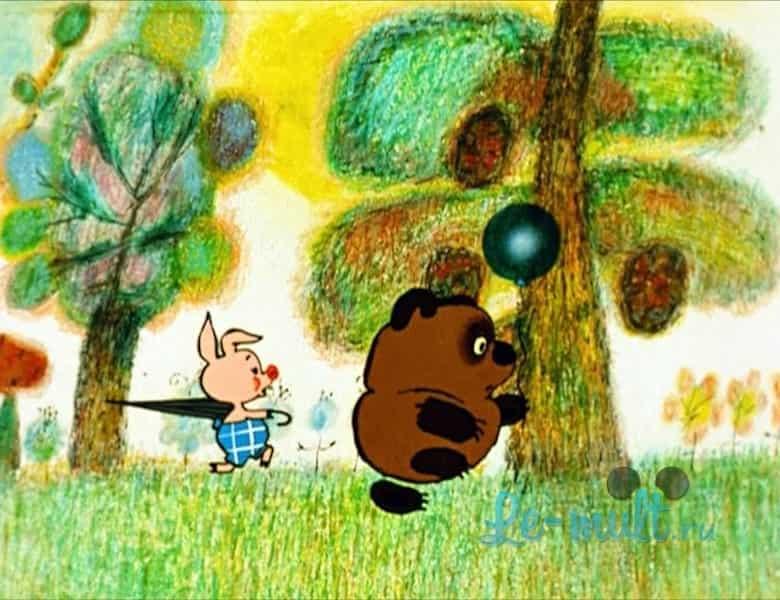 Картинки мультфильма винни пух