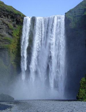 Звук шума водопада слушать онлайн
